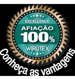 Selo - Afiação 100% Wirutex
